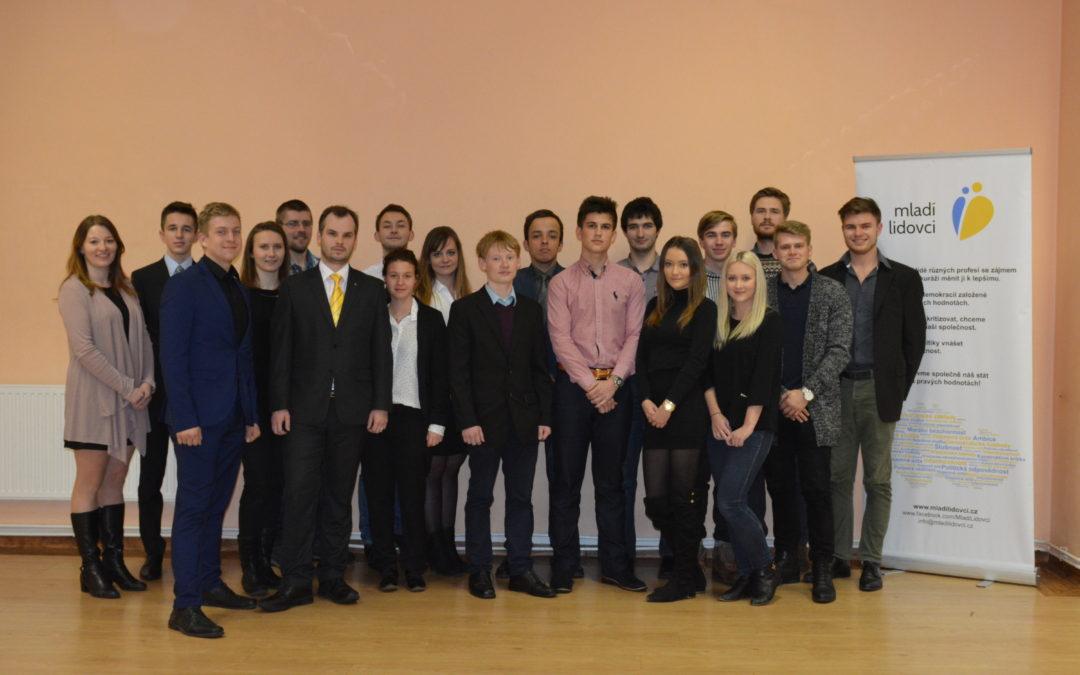 Mladí lidovci Zlínského kraje si zvolili vedení pro následující rok