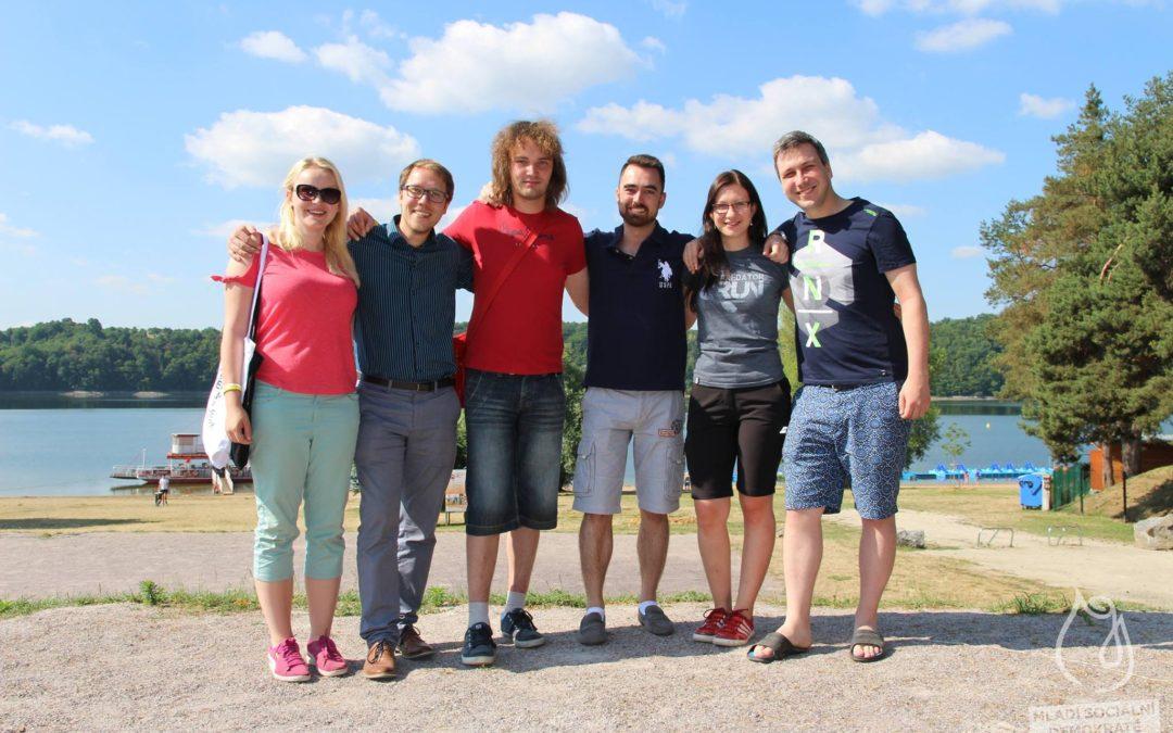 Mladí lidovci na letním setkání Mladých sociálních demokratů