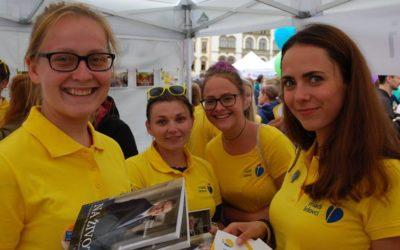 Stánek Mladých lidovců na Celostátním setkání mládeže patřil k nejvíce navštěvovaným