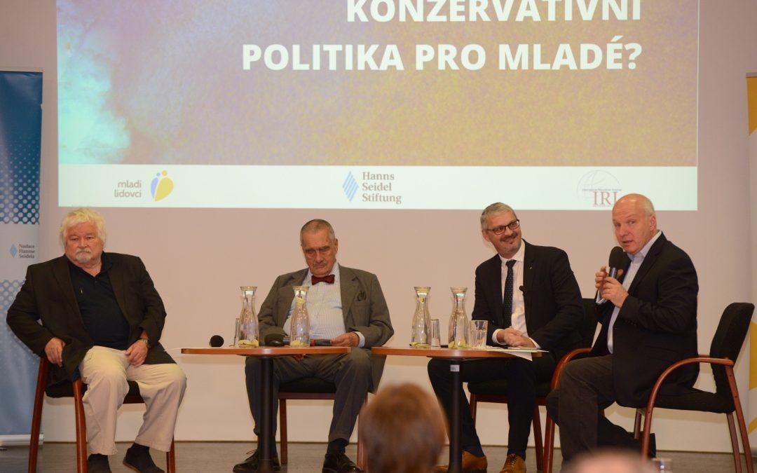 Konference Konzervativní politika pro mladé