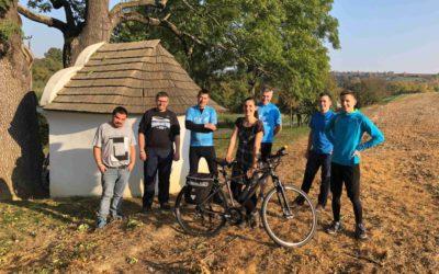 Vydali jsme se na kolech na hrad Buchlov