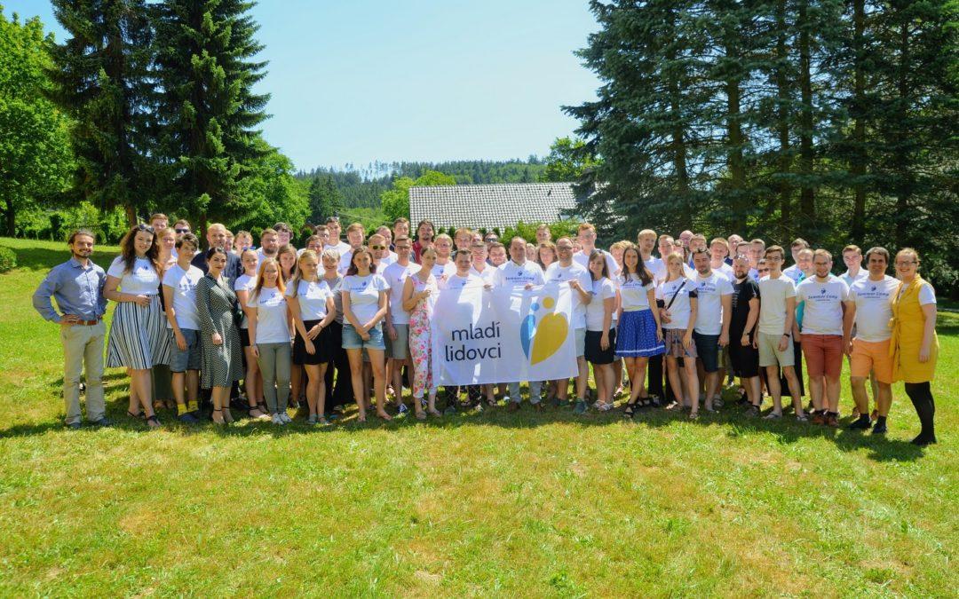 Mladí lidovci se opět sjeli! …Tentokrát na Summer Campu v Luhačovicích. ;)