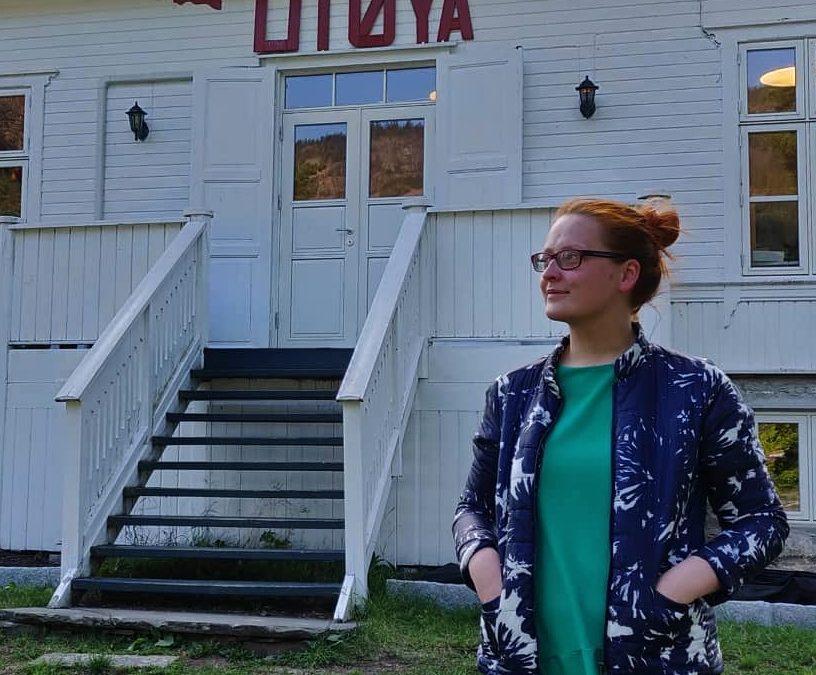 Naše členka Helena se zúčastnila workshopu na ostrově Utøya pro mladé ze zemí V4