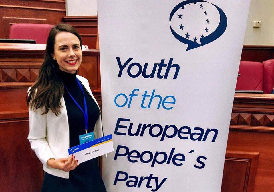 """Mladí lidovci se účastnili konference YEPP """"Měnící se časy: Diverzifikace učení."""""""