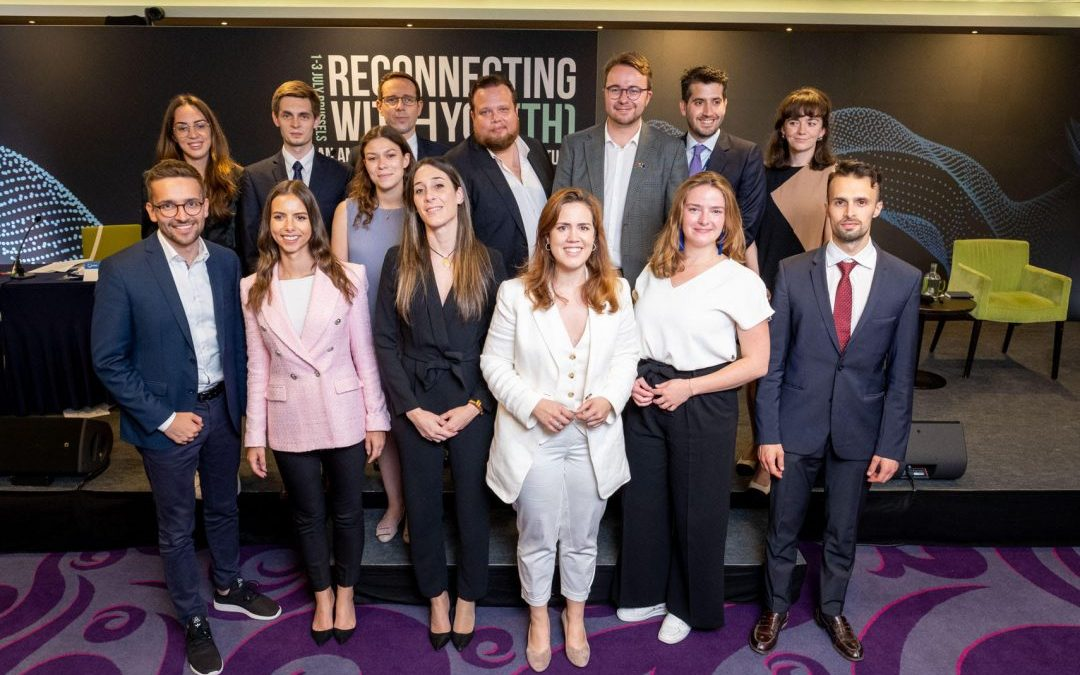 Mladí lidovci získali post místopředsedy v nejsilnější mládežnické frakci v Evropě